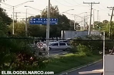 VIDEOS de la Balaceras entre el Cártel del Golfo y Fuerzas Federales en Matamoros, Tamaulipas