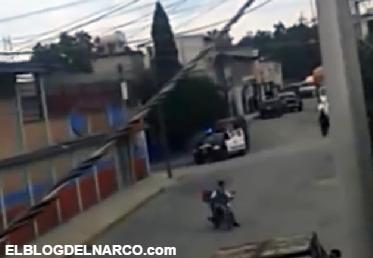 Vídeo del enfrentamiento entre Federales y el Cartel Jalisco Nueva Generación