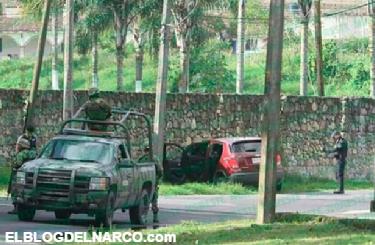 Video, fuerte enfrentamiento entre policías y sicarios en Unidad Palmira de Orizaba