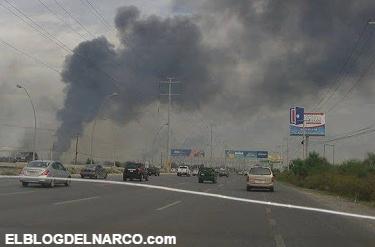 Video, Comandante Toro y el CDG paraliza Reynosa con narcobloqueos y quema de llantas por todos lados