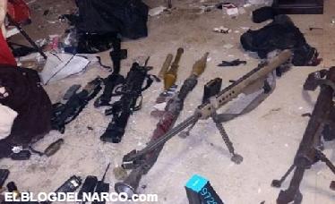 Fotografías de los 25 sicarios muertos en Veracruz tras enfrentamientos con Fuerzas Federales