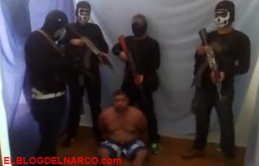 Vídeo donde un grupo de sicarios interrogan antes ejecutarlo a un halcón