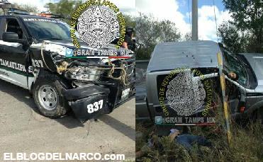 Video, Se enfrentan Cártel del Golfo y policías en Matamoros, reportan tres sicarios muertos