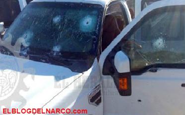 Fotografías completa de enfrentamiento en Rubio camionetas habilitadas como tanquetas hummer todos blindados