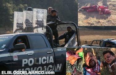 Vídeo,¡Ya cayó uno, ya cayó uno!: celebración policial  al momento de asesinar a 4 pobladores en Arantepakua, Michoacán