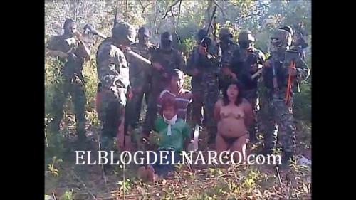 Vídeo Macabro en donde El Cártel del Golfo interrogan y Descuartizan a 4 miembros de los Zetas