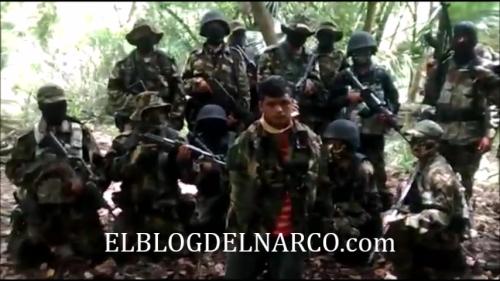 Vídeo en donde los Zetas Decapitan a un miembro del Cartel del Golfo 6 de Julio de 2014