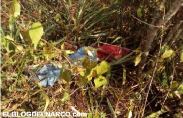Fotografía fuerte, sicarios ejecutan a Maestra y Niño