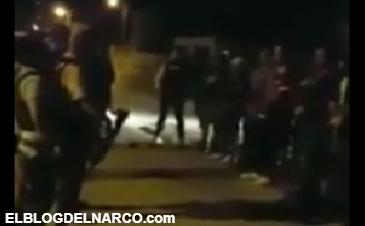 "Vídeo donde Integrantes del Cartel del Golfo rezan antes de ""ir a la guerra"" en Reynosa"