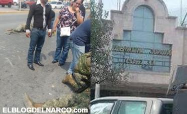 Fotos, sicarios firman sentencia de muerte, Atacan a Marinos en #RioBravo, Tamaulipas dejan 3 elementos heridos y uno grave