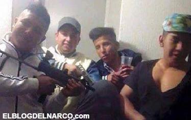 FOTOS, Banda de jóvenes ratas posan con armas con las que cometen asaltos