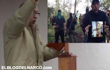 Vídeo: La Tuta envía mensaje a sus sicarios de Los Caballeros Templarios y deja congeladas a las autoridades federales en el Altiplano