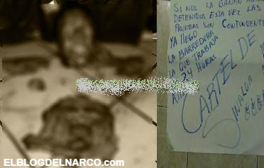 Imágenes de terror del narco, el Cártel de Sinaloa les arranca el rostro a colaboradores del CJNG en Colima