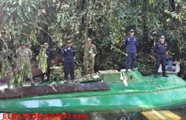 Vídeo, Incautan el primer submarino eléctrico con valor de 1.5 mdd usado para transportar cocaína