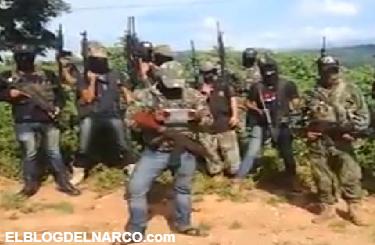 VÍDEO: La Familia Michoacana ya están hartos que los Guerreros Unidos se hagan pasar por comunitarios y mandan mensaje el Gobernador de Guerrero