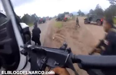 VIDEO: ¡Ahorren munición! Así fue la emboscada de mas de 100 sicarios contra militares y policías en la Sierra de Chihuahua