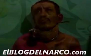 Vídeo donde 'El Chapo' interroga, tortura y quema a hombre de confianza de