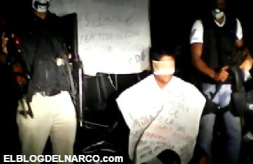 Vídeo donde el cartel del Golfo ejecuta a jefe de escolta del Cártel del Noreste