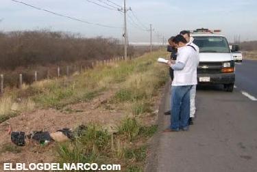 #Video Lo ejecutan y dejan 'narcomensaje' junto al cuerpo