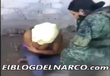 Vídeo en donde militares torturan, dan palizas, asfixian y electrocutan a una mujer