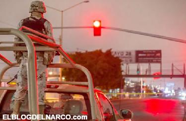 Vídeo del Momento en que elementos de la SEDENA abaten a los sicarios en Nuevo Laredo