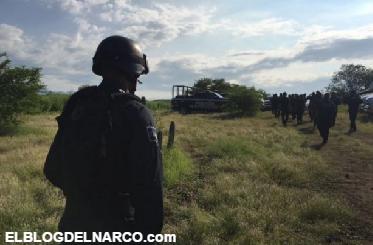 Fotos de narcocampamento los Templarios donde entrenan a Sicarios lugar en el que derribaron Helicóptero