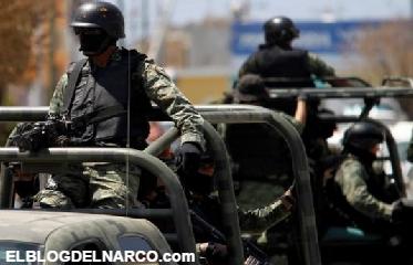 Vídeo, Convoy de Militares se topa de frente con convoy de Zetas y se enfrentan...