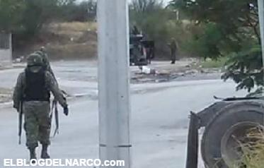Imagenes y videos del balacera entre Sedena y Civiles Armados deja 1 delincuente herido y 2 detenidos en Villas de San Miguel