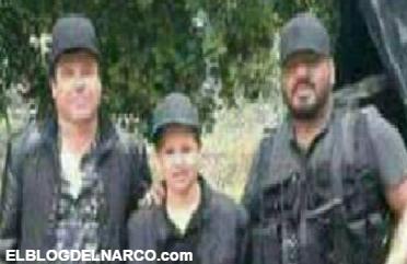 Fotos, El Chapo Guzmán junto a El Cholo Iván el temible brazo derecho del narcotraficante...