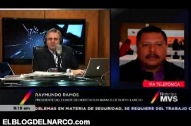 Vídeo, Raymundo Ramos Pte CNDH habla sobre ejecución de militares a Sicarios en Nuevo Laredo