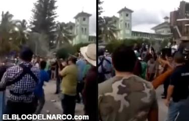 Video, Policía comunitaria de Michoacán envía bélico mensaje a Peña Nieto, Osorio Chong y Caballeros Templarios
