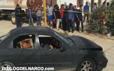Fotografías fuertes de despedazados por ejecución mueren 2 jóvenes en Baja California