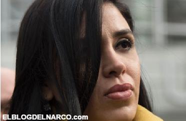 Vídeo Así fue el reenuentro de Emma Coronel con Joaquín Guzmán Loera en Nueva York