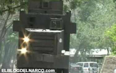 Así son los Narco tanque (también llamados Rhinos, o