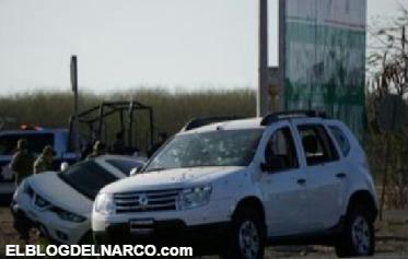 Mas fotos de el enfrentamiento en Las Flores Cuiacan Sinaloa deja 3 muertos y 15 heridos entre civiles inocentes