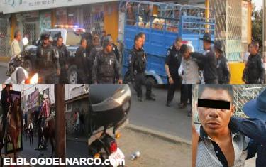 """Vídeo del momento en el que ejecutan a el """"El Güero"""", organizador de la Feria de Cuernavaca 2017, detienen al sicario"""