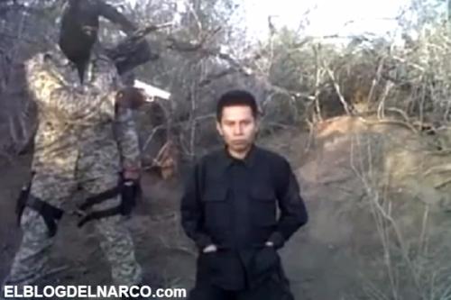 """Vídeo donde ejecutan a un joven por colaborador con """"Valor por Tamaulipas"""""""
