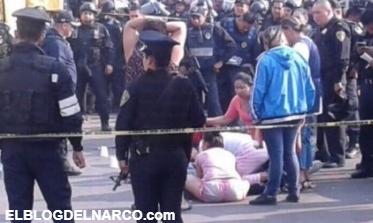 Mas información, Balacera en Mercado de Sonora deja dos muertos
