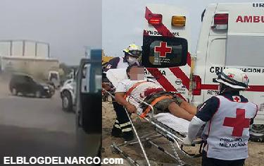 Vídeo, graban frente a ellos fuerte balacera en Reynosa y 4 resultan heridos por balas perdidas tras enfrentamiento entre sicarios