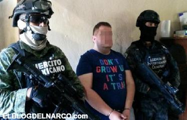 """Vídeo, confirman captura de """"El Moreno 14"""", operador de las Fuerzas Especiales de """"El Mini Lic"""""""