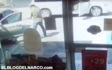 VÍDEO: Capta el momento en que sicario ejecuta a hombres en Nuevo León