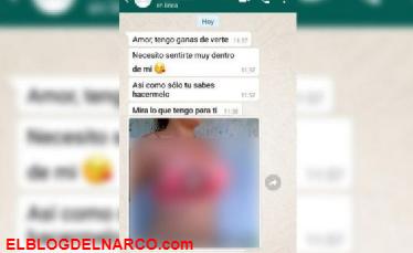 Envía vídeo intimo a su amante, lo mira la esposa