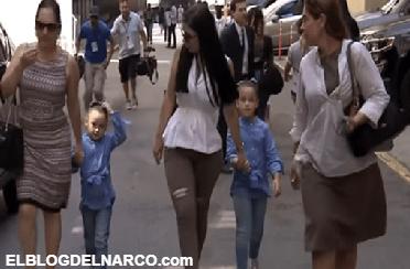 VÍDEO: El Chapo recibe sus primeras visitas en la cárcel y ya pudo ver a sus hijas gemelas