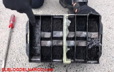 Vídeo, Policía Federal asegura 15 kilos de cristal y 5 kilos de heroína en Nuevo León