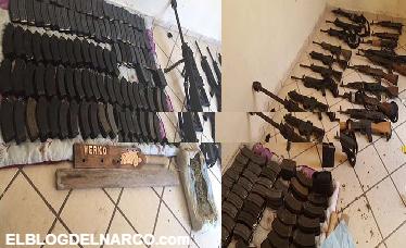 VÍDEO: Militares tumban arsenal del comandante Werko del Cártel del Noreste en Nuevo Laredo
