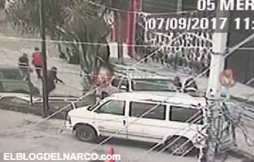 Fuerte balacera en Coroneo, duró un minuto en (VÍDEO)