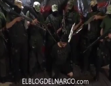 Vídeo completo donde los Zetas decapitan a principal lider de los Talibanes del Cartel del Golfo