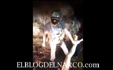 Vídeo impactante en donde sicarios del Mencho (CJNG) descuartizan vivo a un integrante de los Viagras